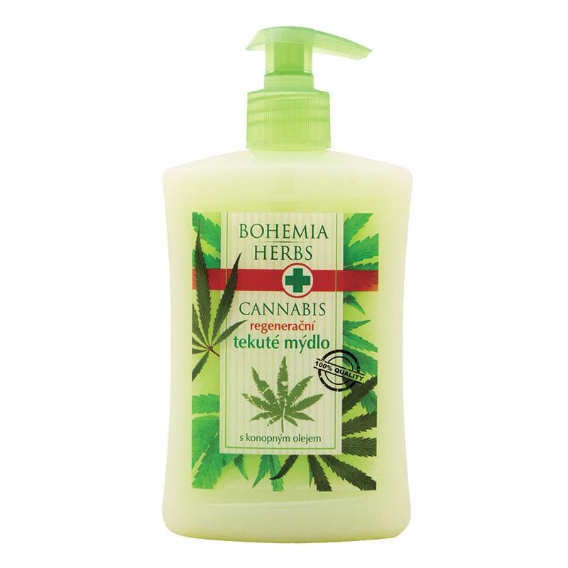 Tekuté mydlo – cannabis