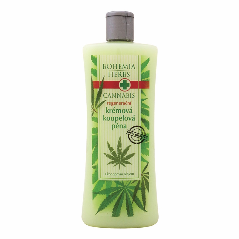 Pena do kúpeľa – cannabis
