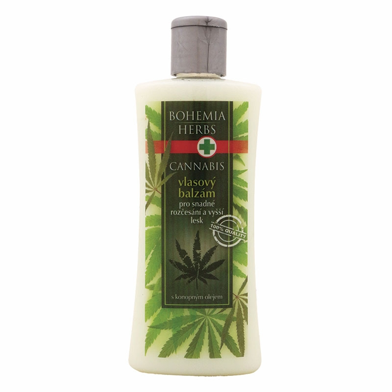 Vlasový balzam – cannabis