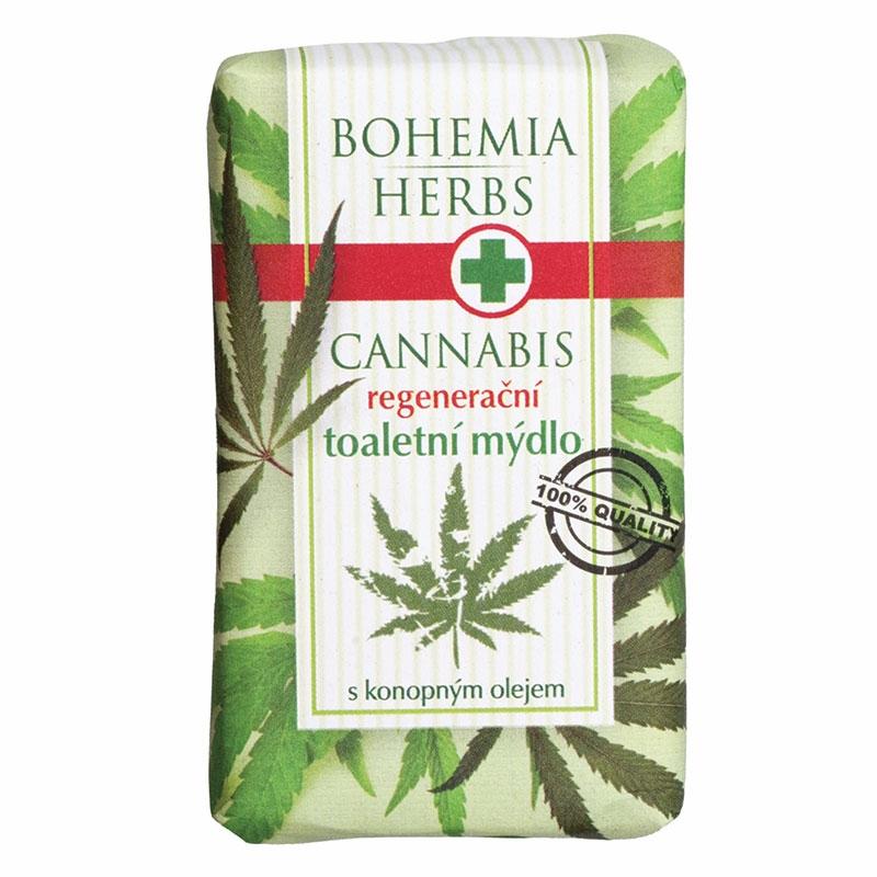 Toaletné mydlo – cannabis