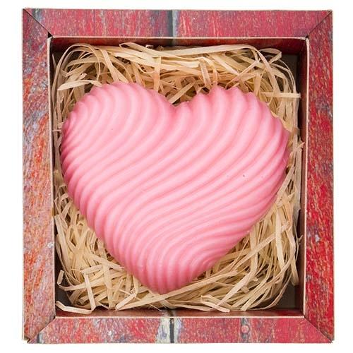 Ručne vyrábané mydlo – srdce