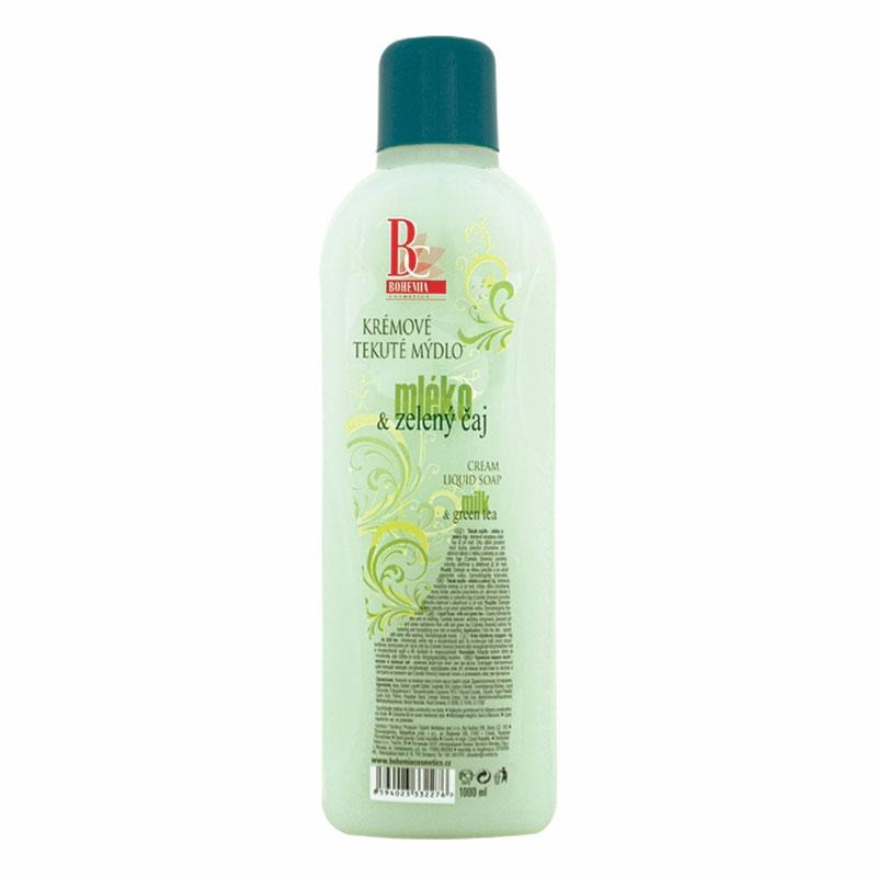 Mydlo – mlieko/zelený čaj
