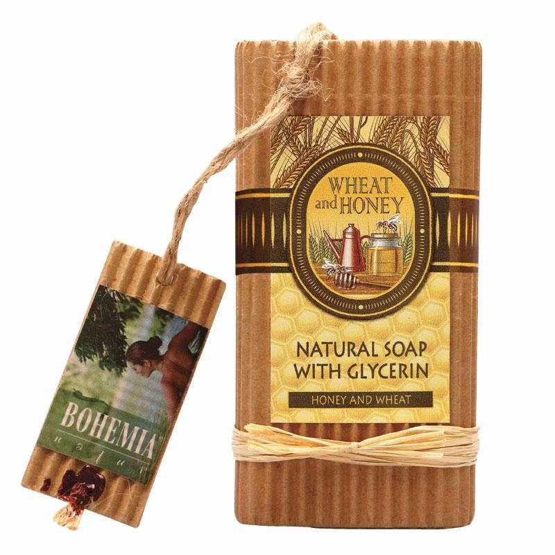 Prírodné mydlo s glycerínom – med