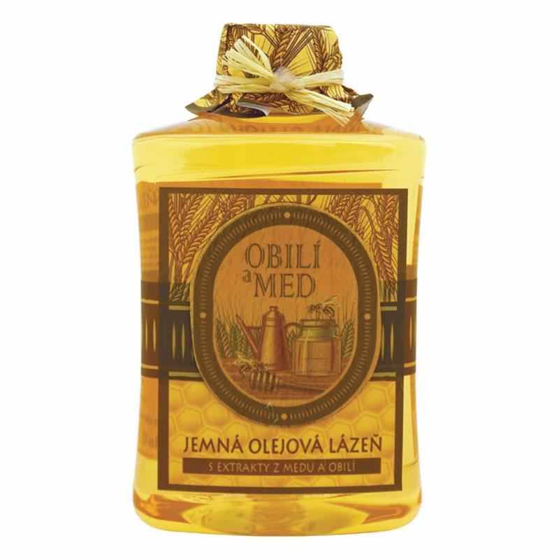 Olejová kúpeľ – med