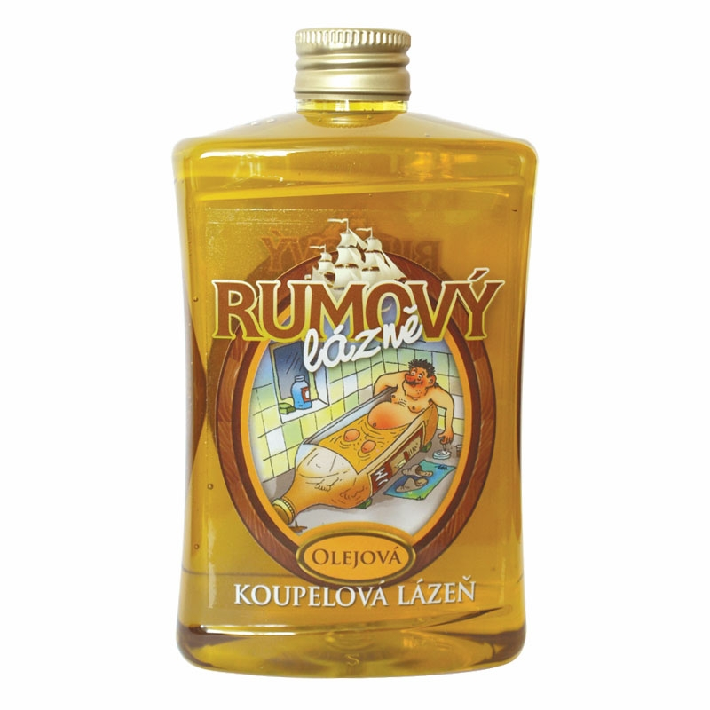 Olejová kúpeľ – rum