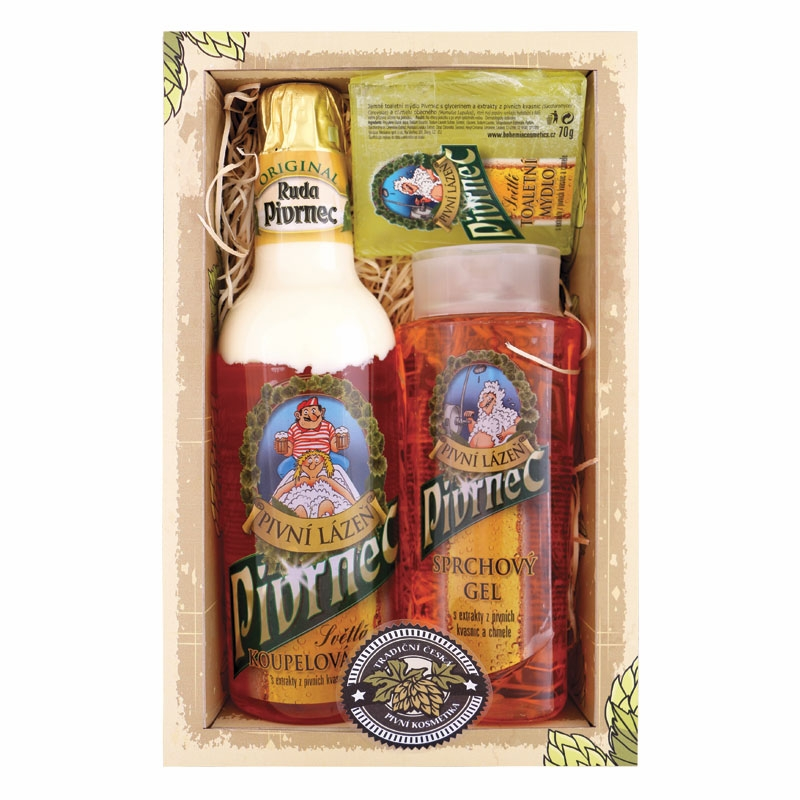 Darčekový kozmetický balíček Pivrnec